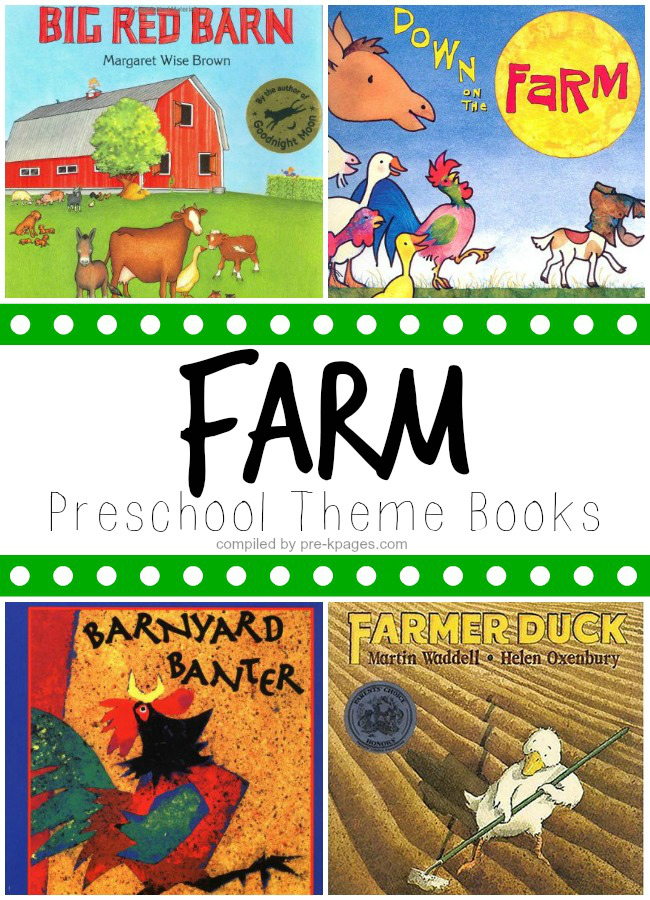 Books for Teaching About Farms and Farm Animals