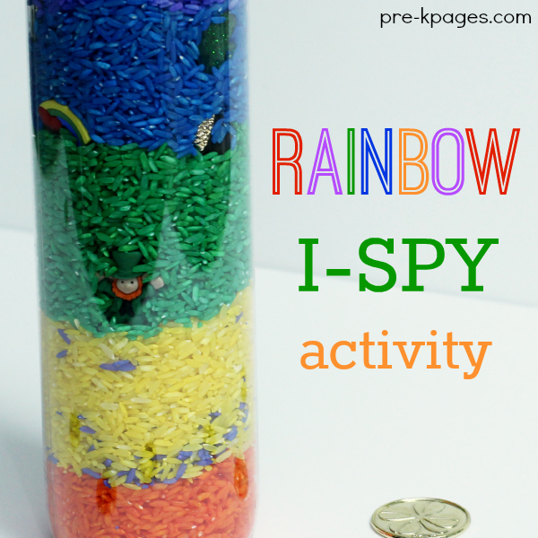 Rainbow I-Spy Activity