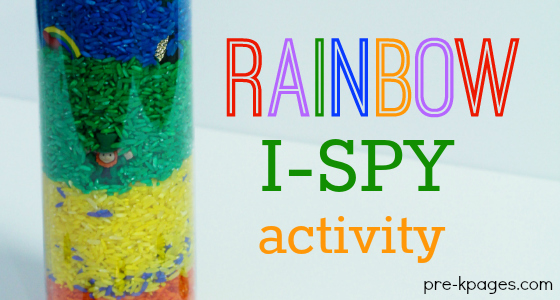 St. Patrick's Day I-Spy Activity