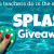 Splash Giveaway Slider
