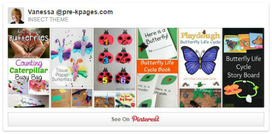 Bug Board on Pinterest