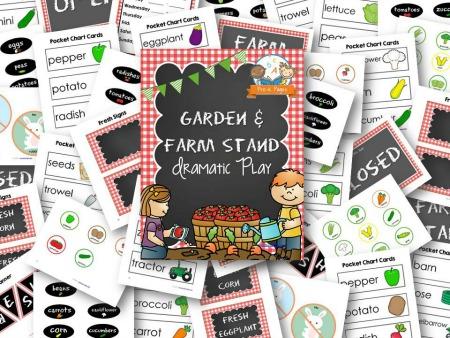 Dramatic Play Farmer's Market Play Kit