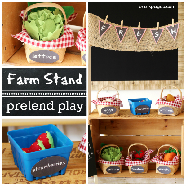 Dramatic Play Farm Stand