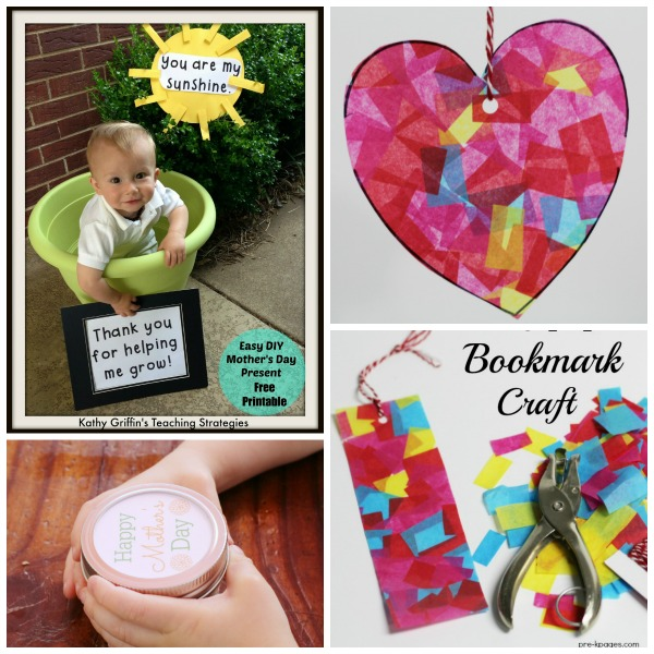 Mother 39 s day gifts kids can make for Homemade mothers day gifts from toddlers