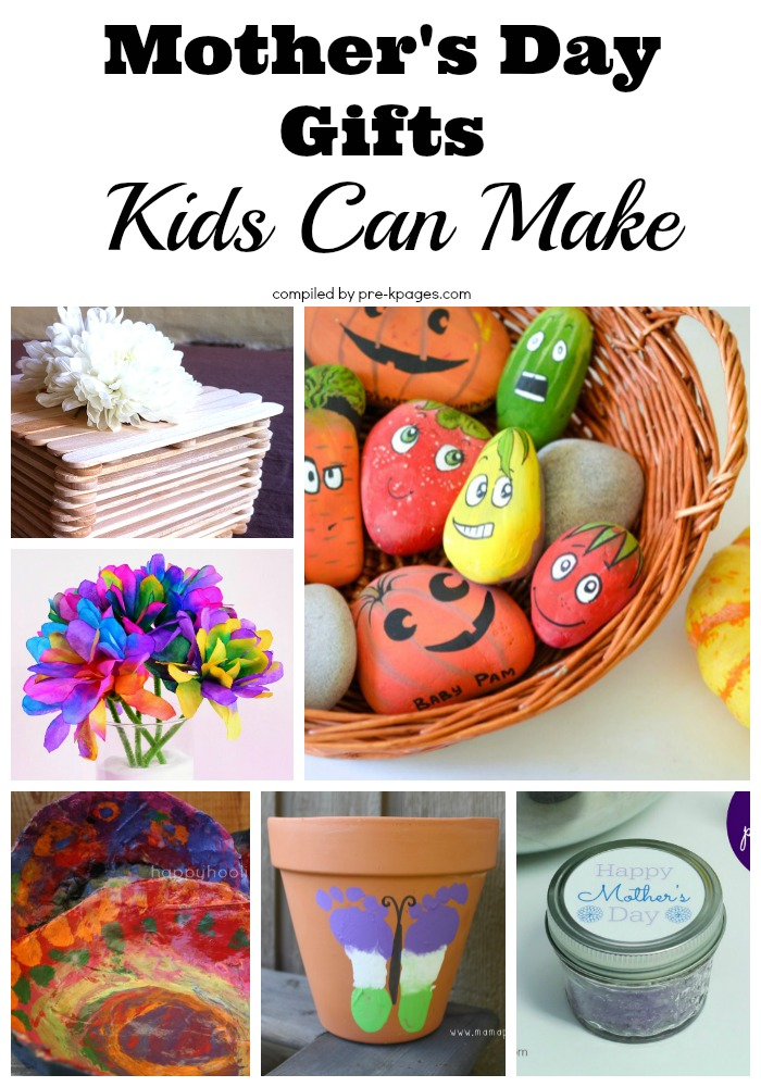 Mother 39 s day gifts kids can make for Things to make for your mom for mother s day