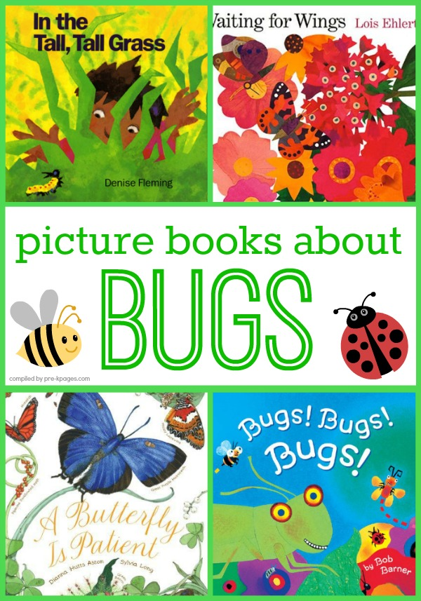 Picture Books About Bugs