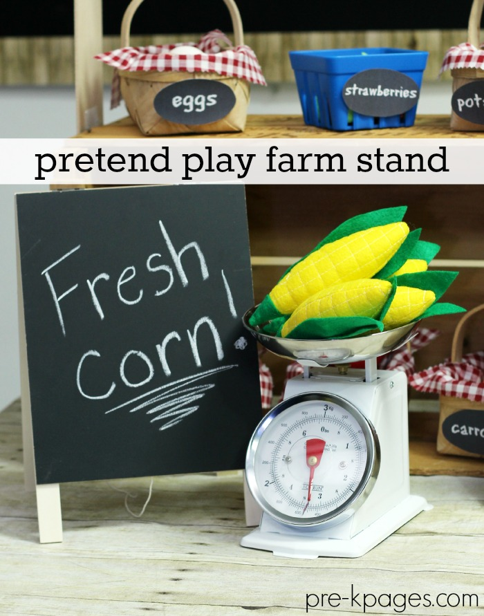 Pretend Play Corn
