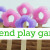 Pretend Play Garden with Pool Noodle Flowers
