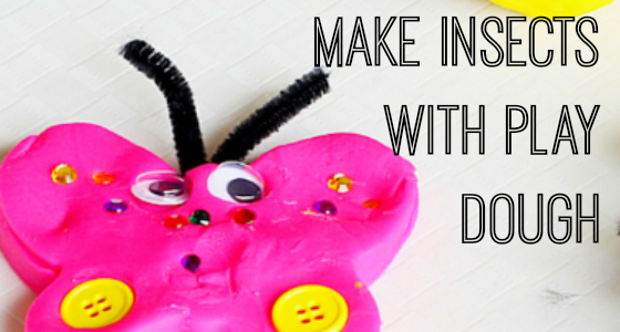Making Insects with Play Dough