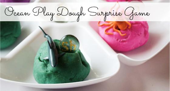 Ocean Play Dough activity