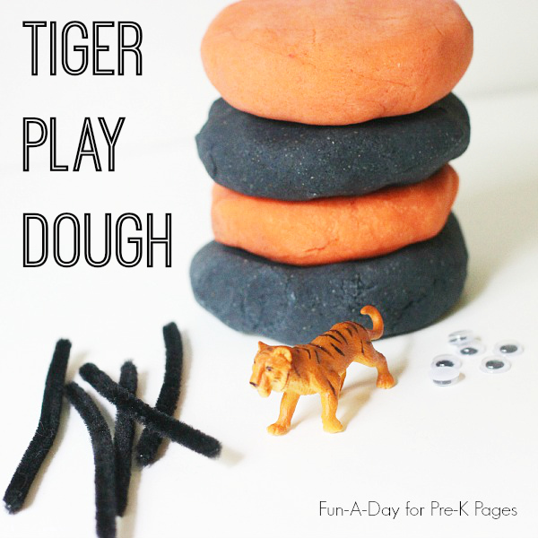 Tiger Play Dough