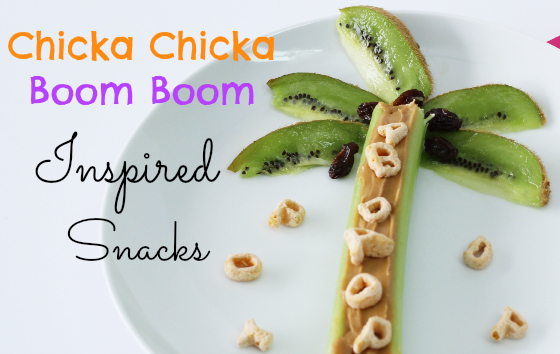 Chicka Chicka Boom Boom Inspired Snacks - photo#35
