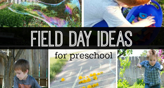 Field Day Ideas for Preschoolers