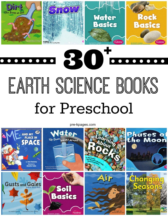 30 Plus Earth Science Books for Preschool