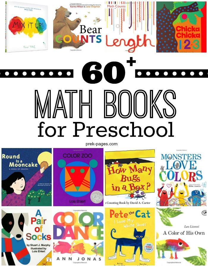 60 Preschool Math Books