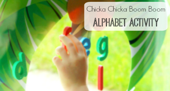 Chicka Chicka Boom Boom: Alphabet Activity