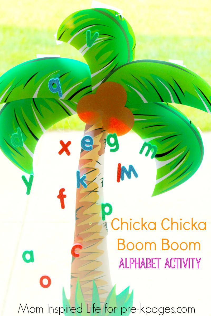 Chicka Chicka Boom Boom: Alphabet Activity - photo#17