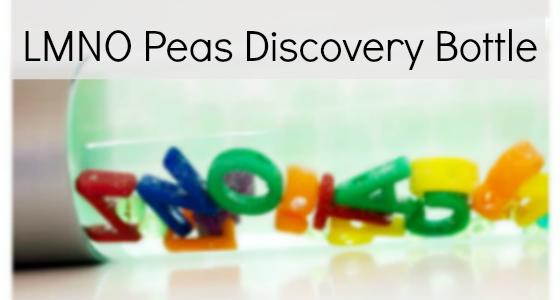 LMNO Peas Discovery Bottle side