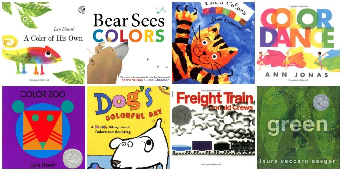 books about colors for preschoolers - Books About The Color Green