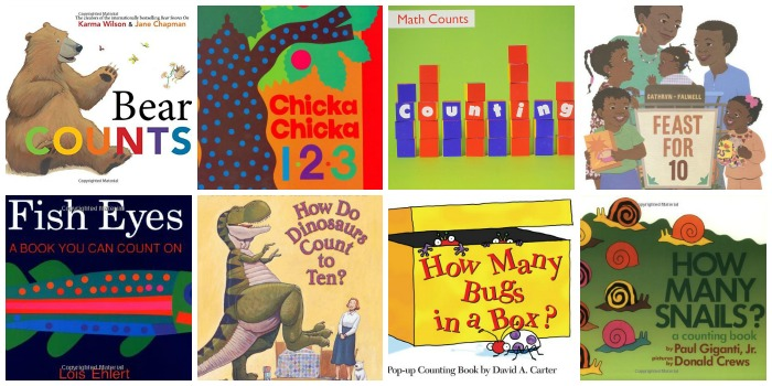 Counting Books for Preschool