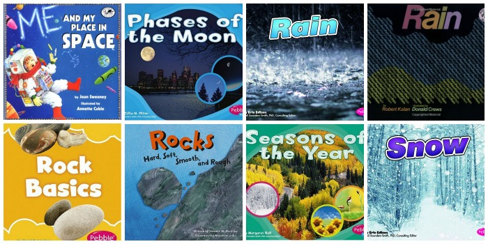 Science Books for Preschoolers About Space