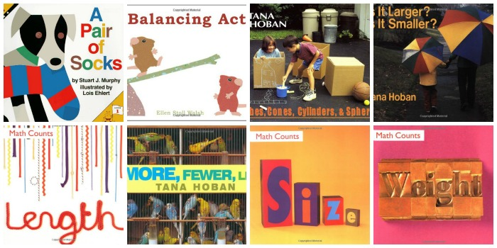 Books About Size and Measurement for Preschool
