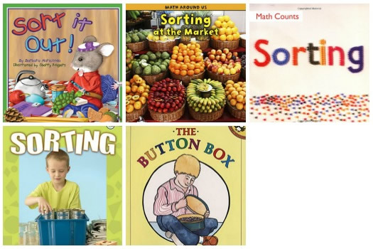 Books About Sorting for Preschool