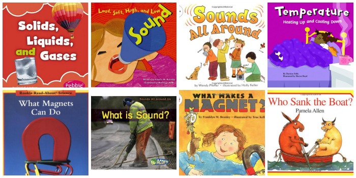 Preschool Science Books About Sound