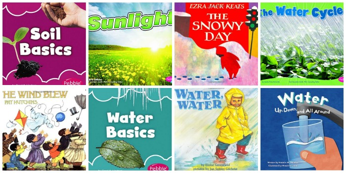 Science Books About Water for Preschool