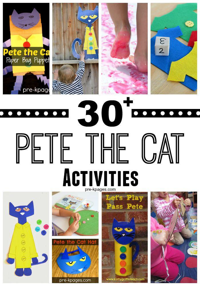 Free Worksheets following directions worksheet preschool : Pete the Cat Activities