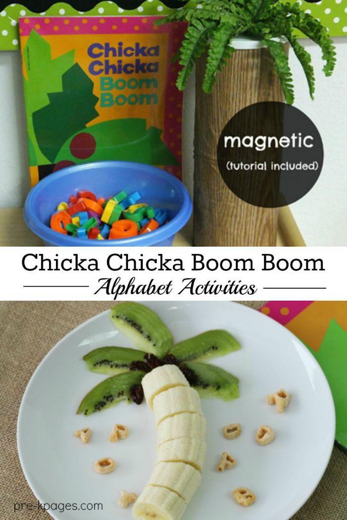 Chicka Chicka Boom Boom Activities - photo#29