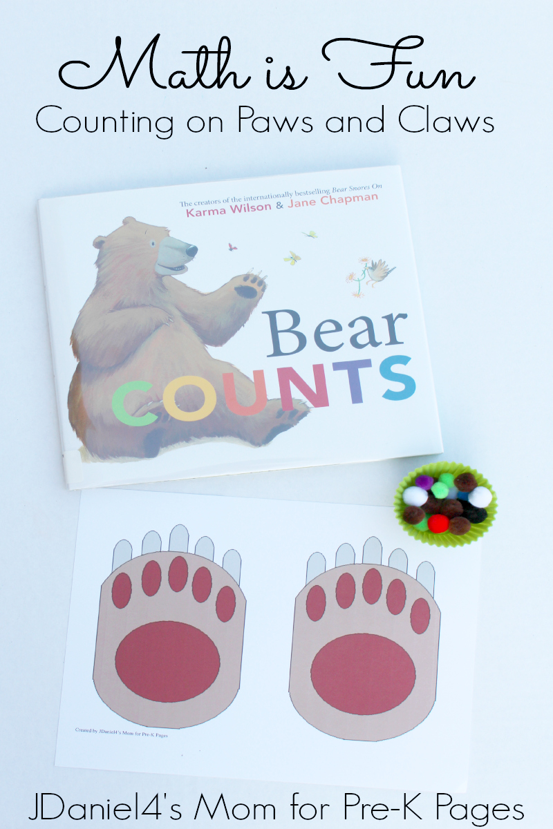 counting on paws for preschool