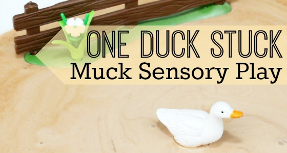 muck sensory play