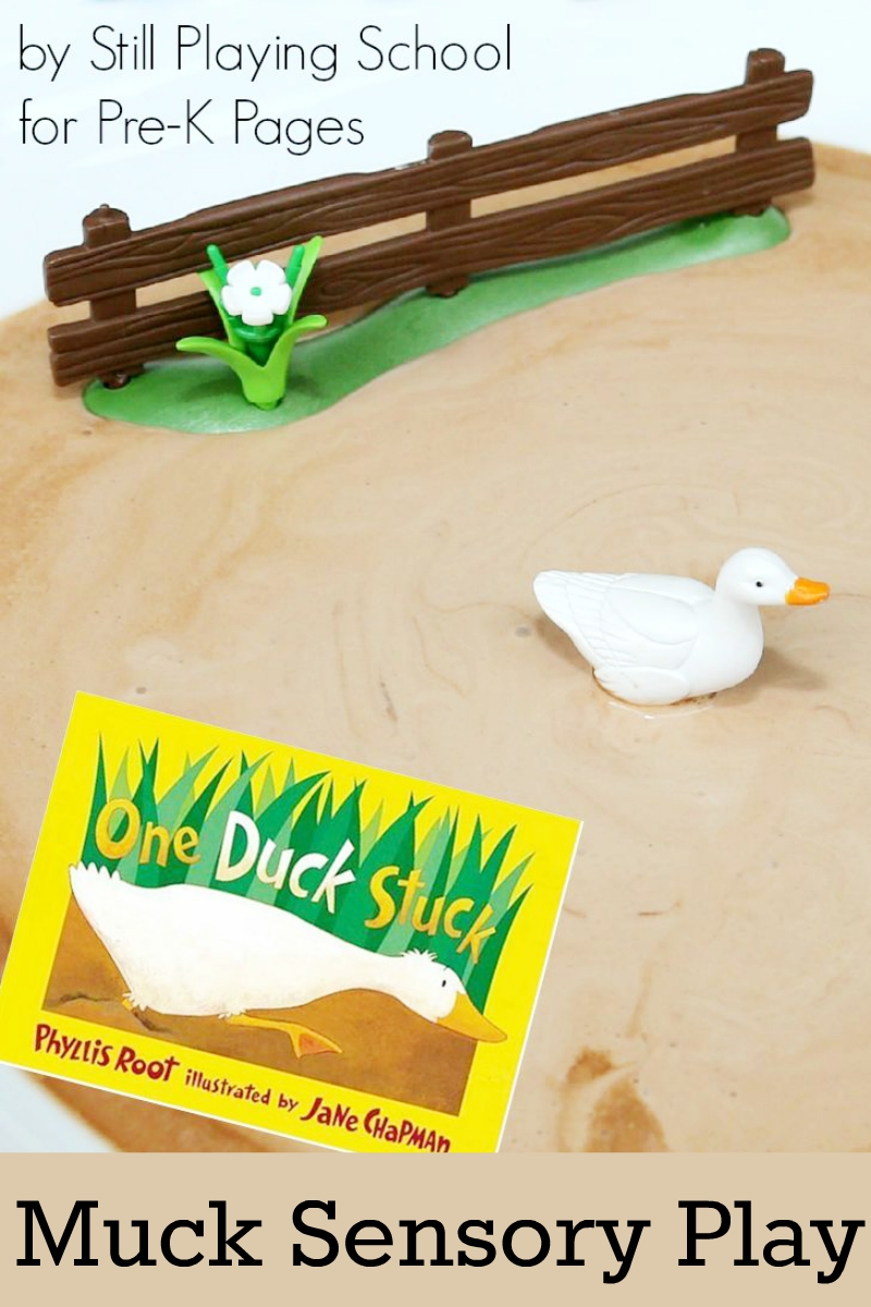 one duck stuck sensory activity