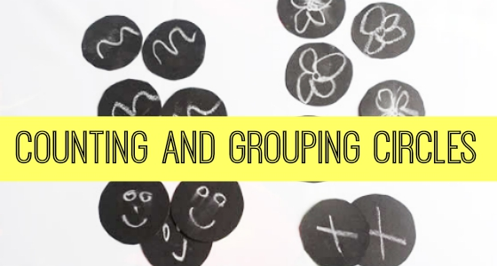 Ten Black Dots: Counting and Grouping Circles
