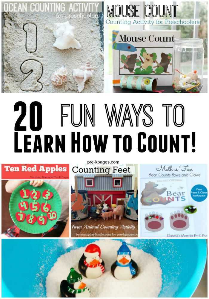 20 Fun Ways to Learn How to Count