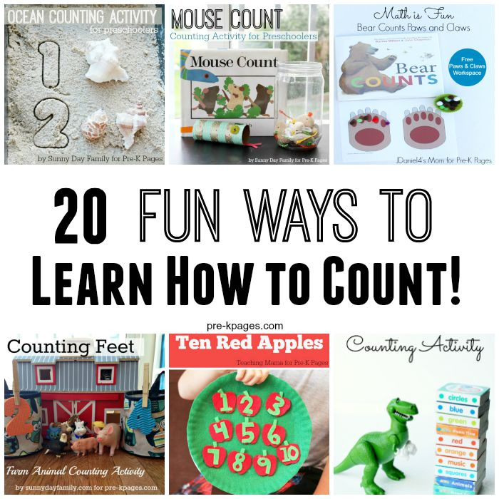 20 Fun Ways to Practice Counting Skills in Preschool
