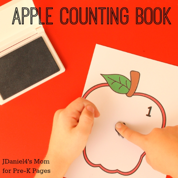 apple counting book preschool