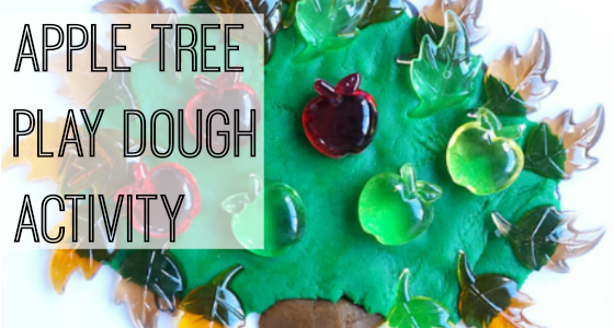 Apple Tree Play Dough Activity