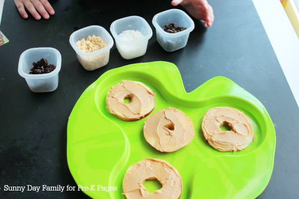 make apple pizza snack