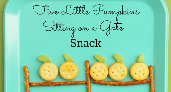 Pumpkin Theme Snack