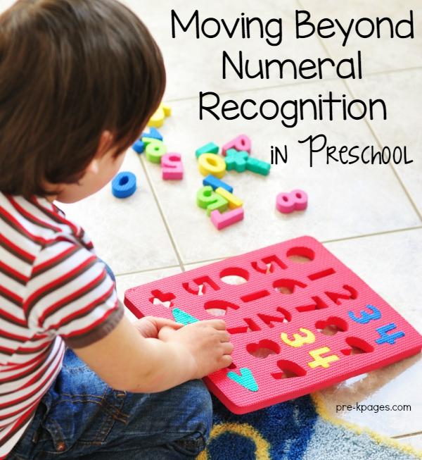 Developing Number Sense in Preschool