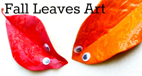 fall leaves art activity