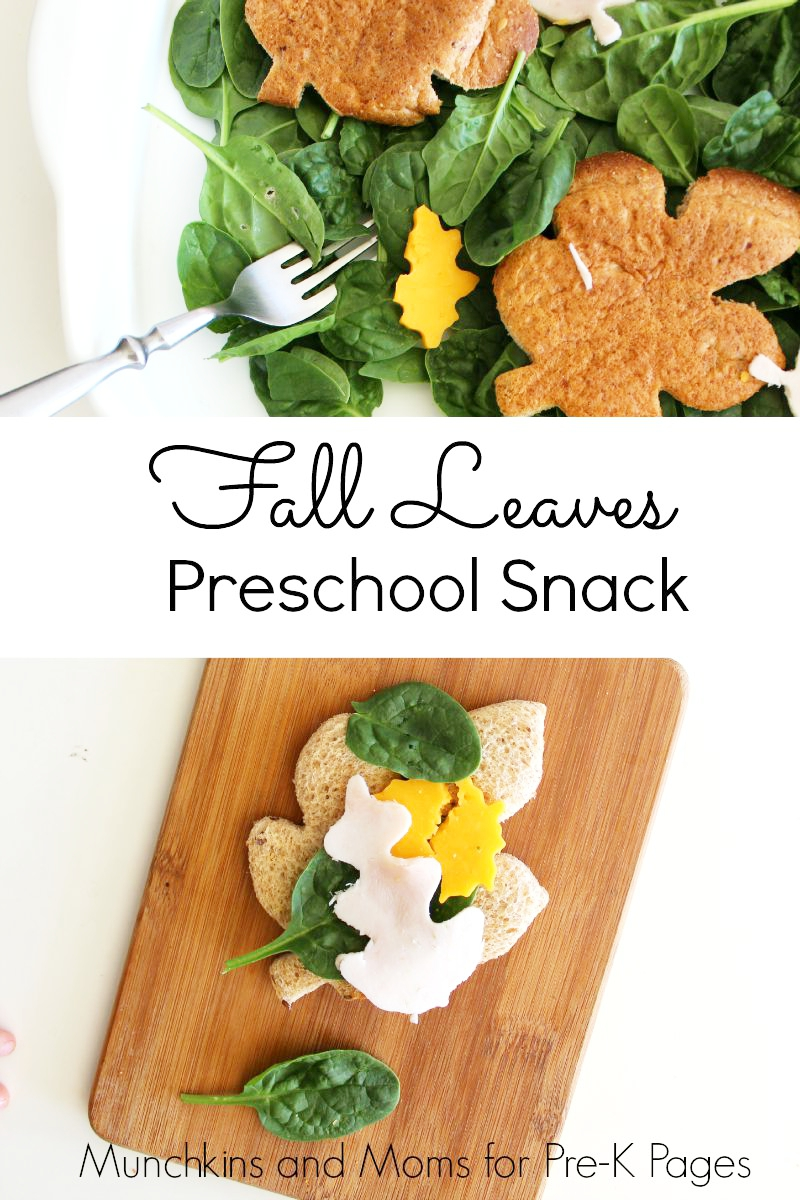 snack for preschool fall leaves snack activity 256