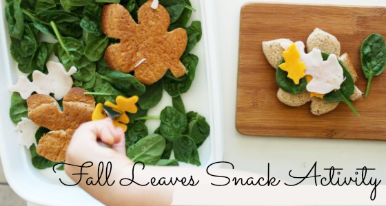 fall leaves snack