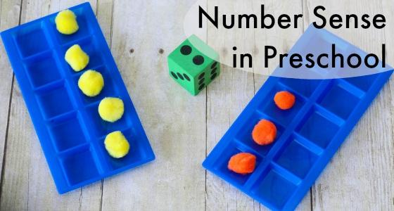 number sense preschool