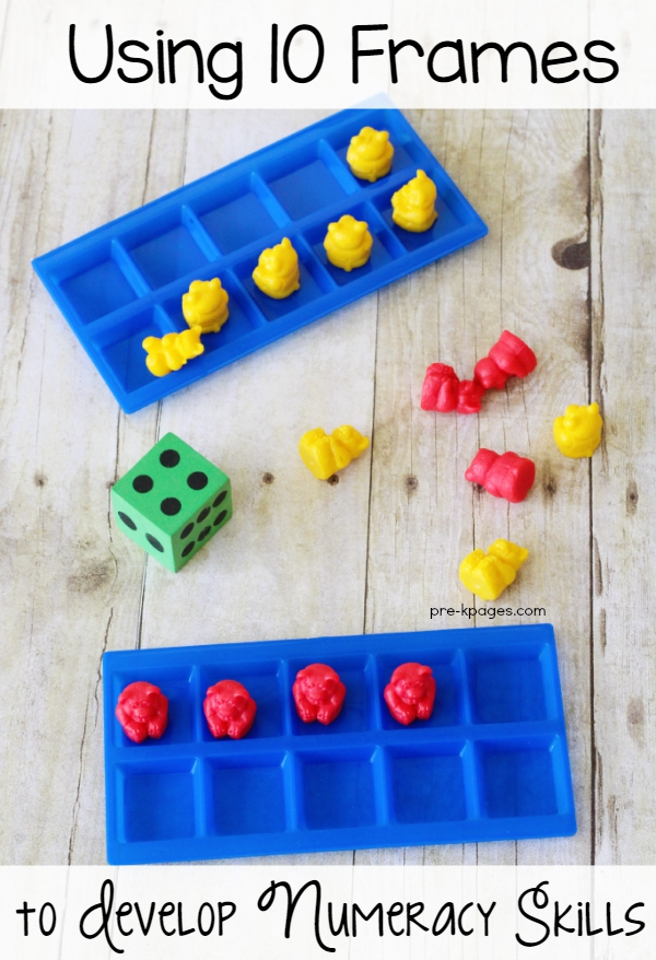 How to Use Ten Frames to Develop Numeracy Skills in Pre-K and Kindergarten