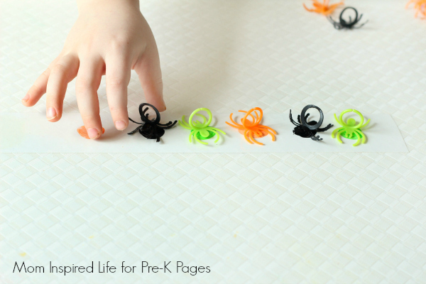 spider patterning