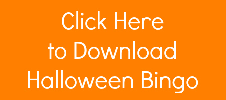 download the printable halloween bingo game - Preschool Halloween Bingo