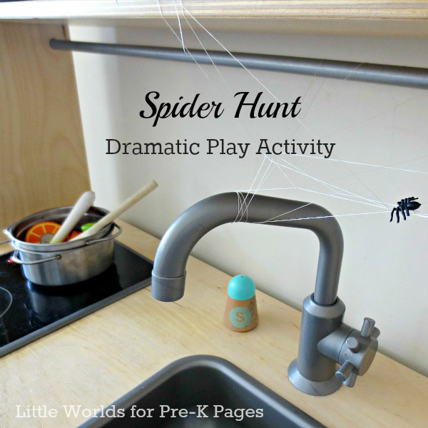 spider hunt camping play